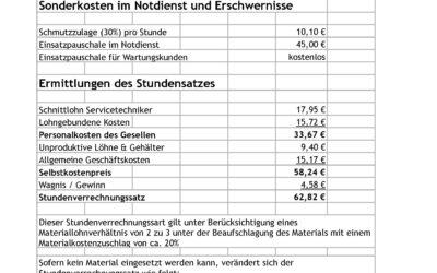 Lohnkostenubersicht